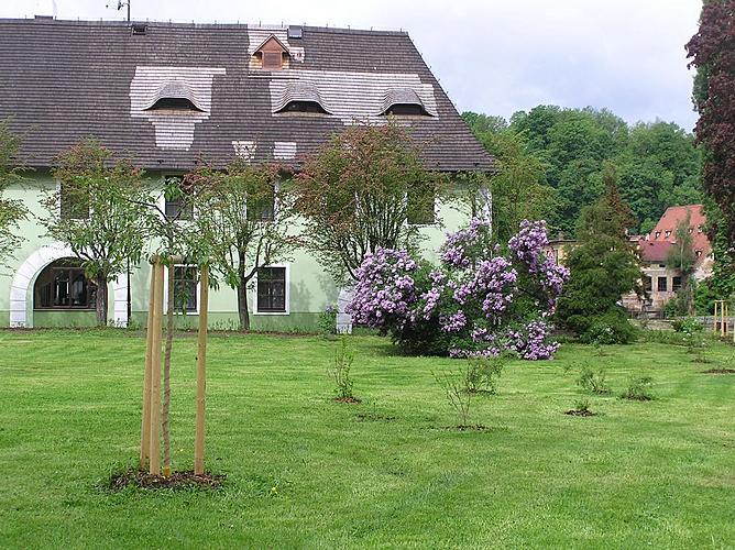 Veřejná zeleň ve městě Český Krumlov